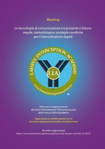 LIA primo meeting nazionale CIT 2019
